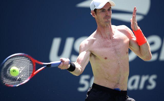Andy Murray je v novi kolumni bežno omenil tudi Slovenijo. FOTO: Julian Finney/AFP