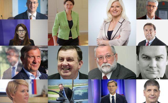 Ministrski kandidati FOTO: Delo