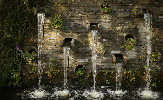 Voda sploh nima okusa po zemlji, diši po zelenju. Kot tisti dež, ki pada najprej na drevesa in potem nate, ko med poletno ploho stojiš pod njimi in čakaš, da te voda očisti. FOTO: Jure Eržen