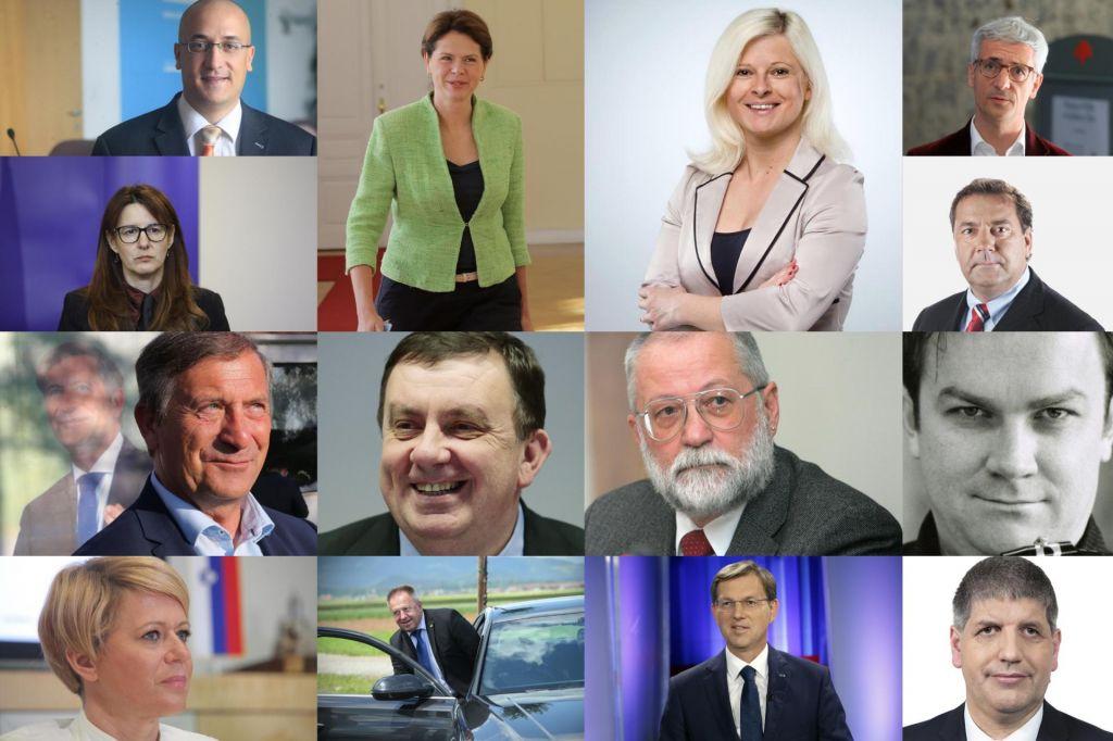 FOTO:Pregled: Kdo so novi ministrski kandidati?