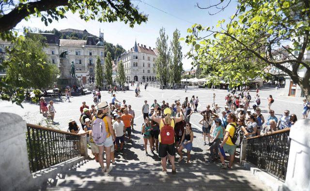 Ena najbolj priljubljenih razglednih točk na Plečnikovo Ljubljano FOTO: Leon Vidic