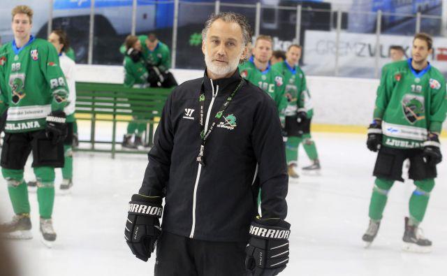 Olimpijin trener Jure Vnuk si obeta, da bo kmalu začel obirati sadove dobrega dela na pripravah. FOTO: Roman Šipić