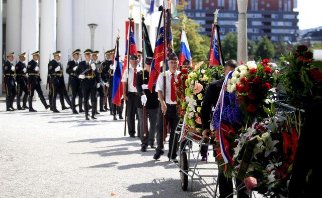 Pogreb je potekal na Žalah. FOTO: Roman Šipić/Delo