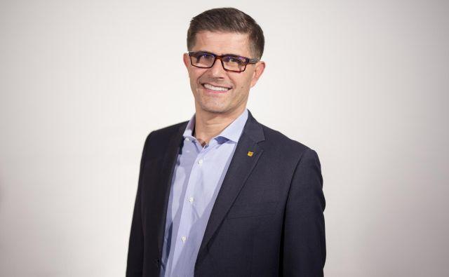 Matjaž Rakovec, kandidat za župana Mestne občine Kranj. Foto Nik Jevšnik