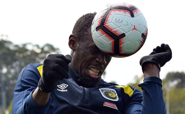 Da je Boltovo nogometno znanje preslabo, da bi zaigral v začetni enajsterici, priznava tudi trener Marinersov Mike Mulvey.<strong> </strong>FOTO: Saeed Khan/AFP