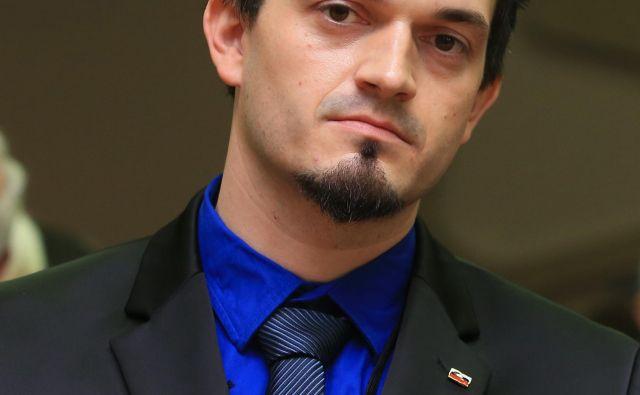Primož Jelševar želi povezati nekdanje in sedanje člane stranke. FOTO: Tadej Regent