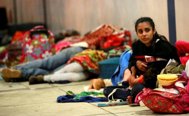 Venezuelci ne odhajajo le v Brazilijo: milijon jih živi v Kolumbiji, 400.000 pa v Peruju. FOTO: Douglas Juarez/Reuters