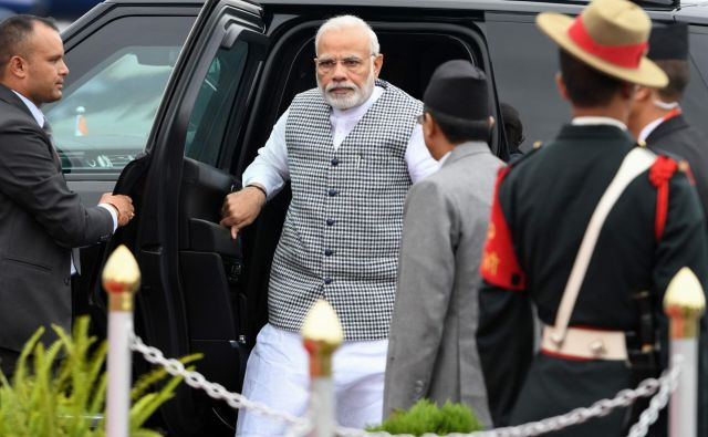 Indijski premier Narendra Modi je tarča kritik levičarskih strank. FOTO: AFP