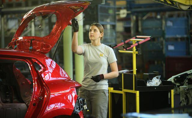 Tovarna Revoz iz Skupine Renault. FOTO: Jure Eržen/Delo