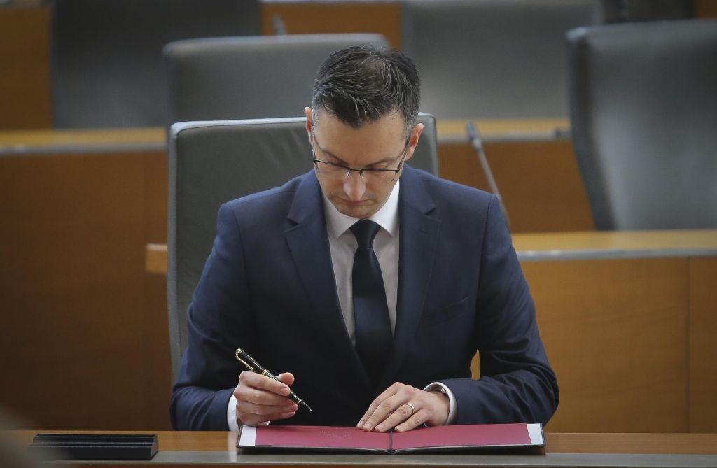 Šarec v DZ vložil listo ministrskih kandidatov