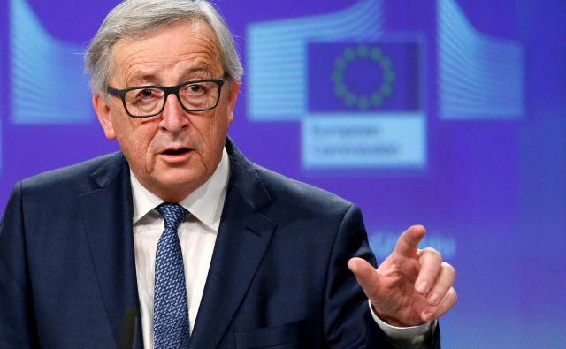 Predsednik evropske komisije Jean-Claude Juncker bi upošteval izraženo voljo ljudi. FOTO: Francois Lenoir/Reuters