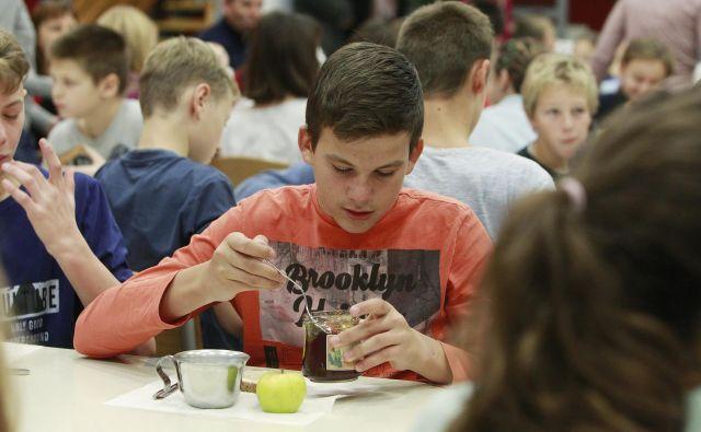 V zadnjih petnajstih letih se počasi spet povečuje delež mladostnikov, ki redno zajtrkujejo, uživajo sadje in zelenjavo. FOTO: Leon Vidic/Delo
