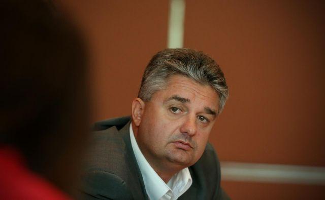 Goran Novković pričakuje odziv politike. FOTO: Uroš Hočevar