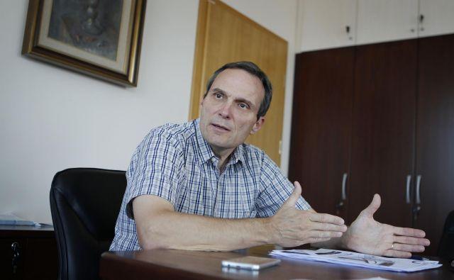 Marijan Papež, generalni direktor zavoda za pokojninsko in invalidsko zavarovanje (ZPIZ). FOTO: Leon Vidic/Delo
