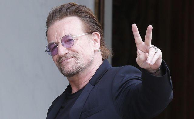 Bono je izgubil glas med pesmijo<em>Beautiful Day.</em> FOTO: AP