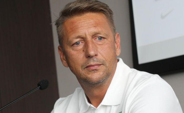 Zoran Barišić bo v Kranjski Gori začel Olimpijino trenersko poglavje. Foto Tomi Lombar/Delo