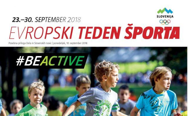 Evropski teden športa, Posebna priloga Dela in slovenskih novic, rekreacija Foto Delo