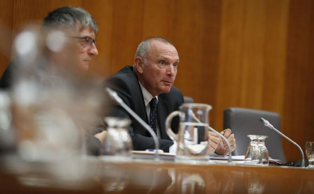 Predstavitev kandidata za ministra za javno upravo Tugomirja Kodeljo pred odborom za notranje zadeve, javno upravo in lokalno samoupravo FOTO: Leon Vidic