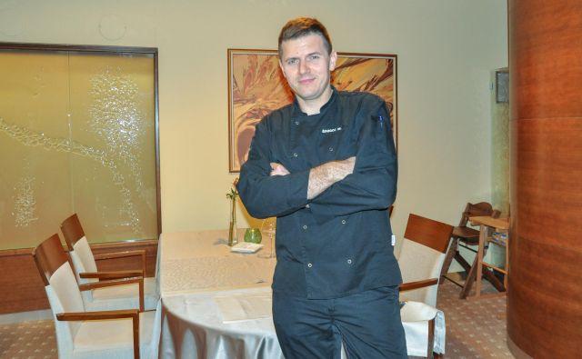 Matjaž Šinigoj je glavni chef vseh restavracij hotela Perla.