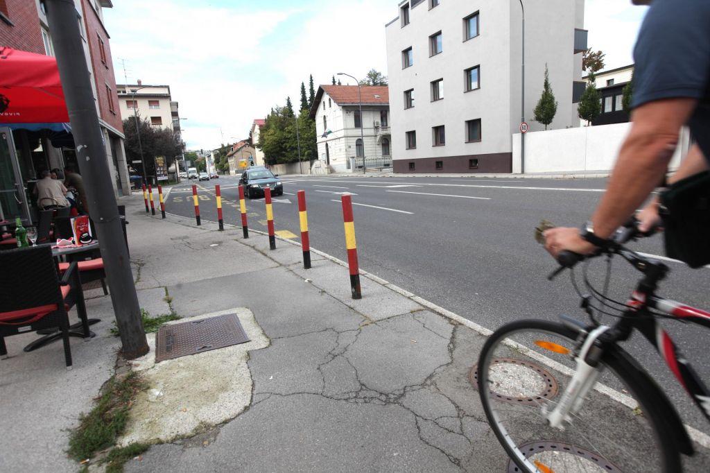 Drenikova bo prijaznejša tudi do kolesarjev