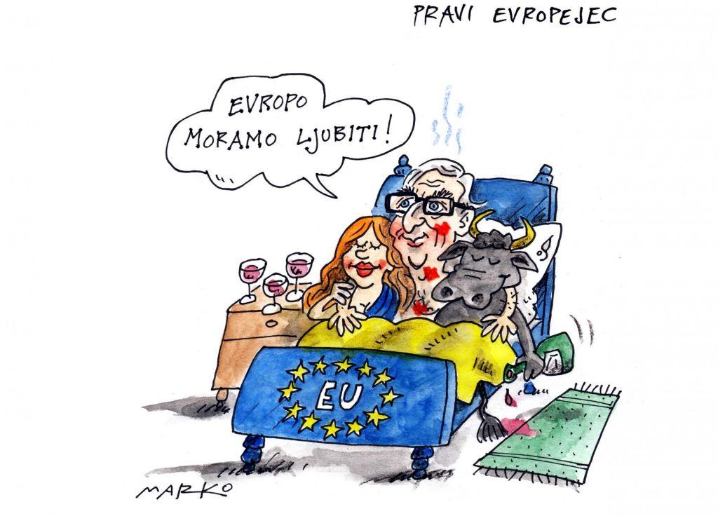 Juncker in Orbán