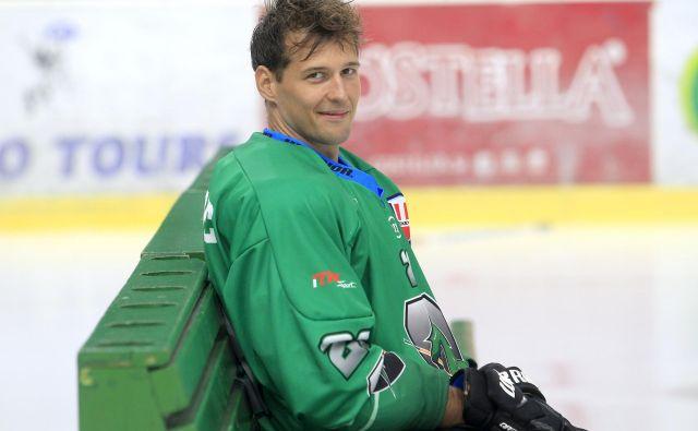 Aleš Kranjc odslej brani zeleno-bele barve Olimpije. FOTO: Roman Šipić