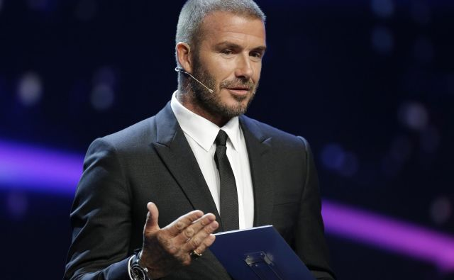 David Beckham trdi, da ni kriv. FOTO: Claude Paris/AP