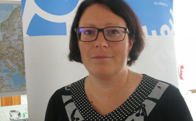 Duška Kalin, vodja projekta Rast(išče) sreče Foto Polona Malovrh