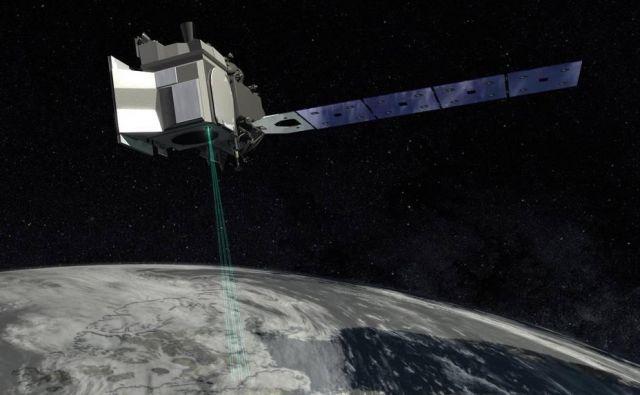 760 milijonov dolarjev bo stal satelit IceSat 2. ICESat-2 FOTO: Nasa