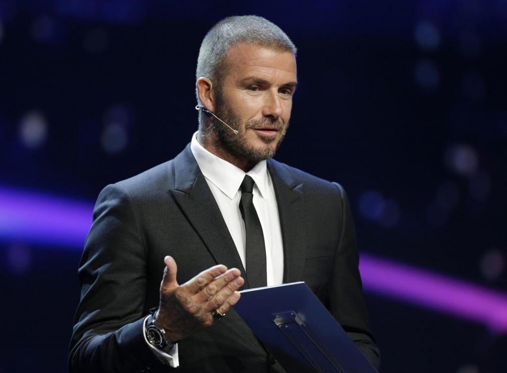 Beckham zavrnil krivdo za prehitro vožnjo