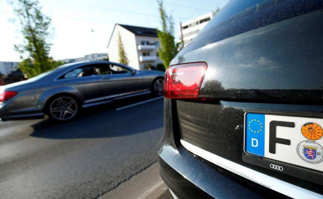 V frankfurtski mestni vladi razočarano ugotavljajo, da ne plačujejo le napak avtomobilske industrije, ampak tudi zvezne vlade. FOTO: Ralph Orlowski Reuters