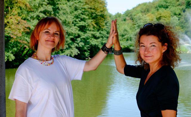 Če si zadovoljen z delom, še ne pomeni, da si na delovnem mestu srečen, pravita Petra Božič Blagajac in Maja Lončar.