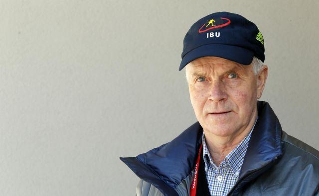 Anders Besseberg se po 25 letih poslavlja od vloge predsednika IBU.<br /> FOTO Matej Družnik