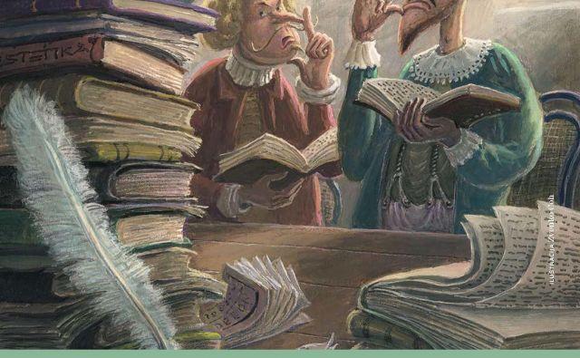 Med osmimi ambasadorji meseca skupnega branja je tudi ilustrator in avtor animiranih filmov Zvonko Čoh z ilustracijo iz knjige Bedak Jurček Hansa Christiana Andersena (Mladinska knjiga, 2005). Foto Nmsb