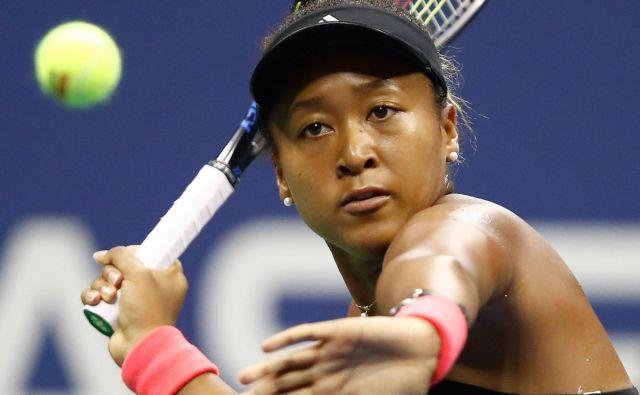 Naomi Osaka je na poti do finala OP ZDA izgubila le en niz, tako kot njena današnja tekmica Serena Williams.<br /> Foto AFP