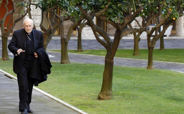Kardinal Theodore Edgar McCarrick. FOTO: Reuters