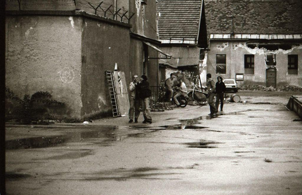 FOTO:Alternativa namesto vojske. Čas, ko je padel berlinski zid v Ljubljani