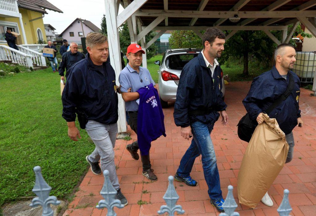 FOTO:Drugi osumljenec je pomagal novačiti ljudi