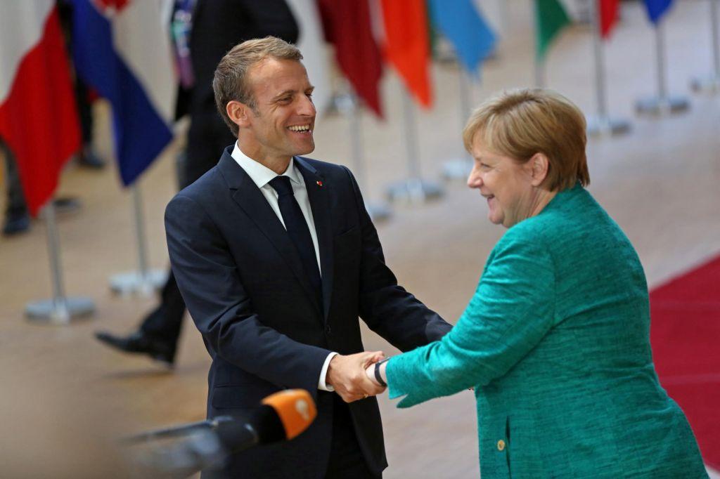 Je Emmanuel Macron res Gospod Evropa?