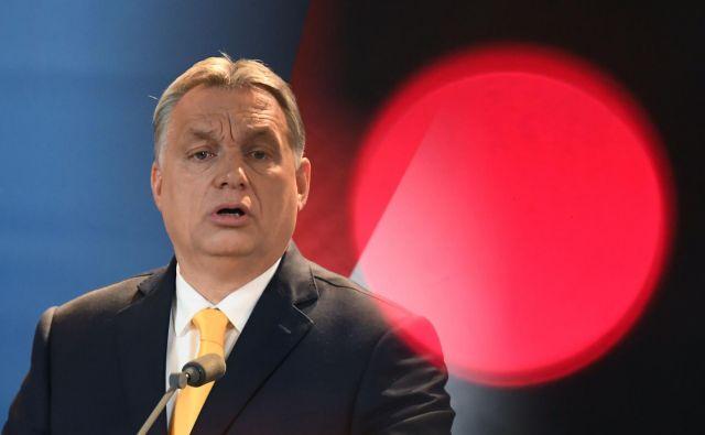Bo to sredo evropski parlament rekel ne Orbánovi politiki? FOTO: AFP