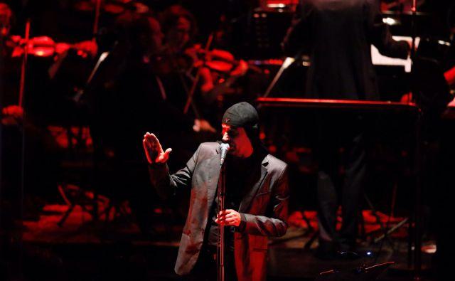 Laibach in Filharmonični orkester iz Lvova so pripravili poseben glasbeni program.<br /> FOTO: Jože Suhadolnik
