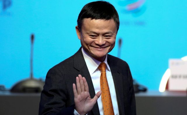 Ma Yun je Alibabo ustanovil s 17 prijatelji in posojenimi 60.000 dolarji pred 19 leti. FOTO: Reuters