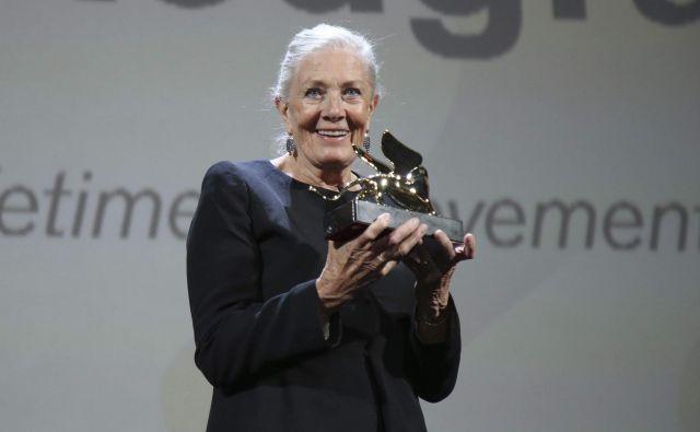 Vanessa Redgrave je edina britanska igralka, ki je prejela vse najprestižnejše nagrade, nazadnje še zlatega leva za življenjsko delo.
