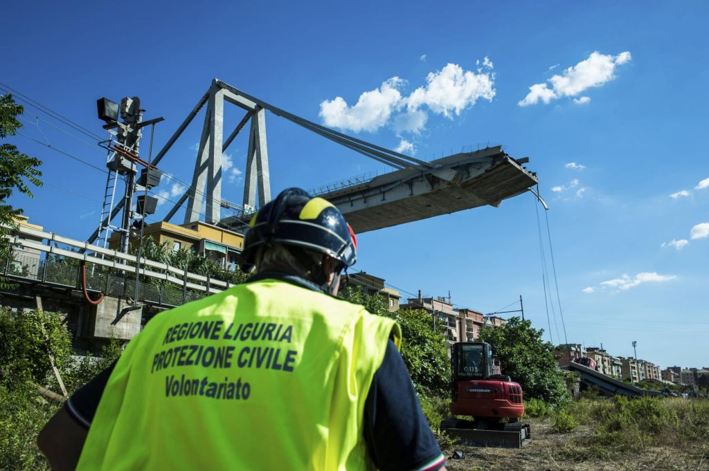 Tožilstvo za zrušitev viadukta Morandi preiskuje 20 oseb