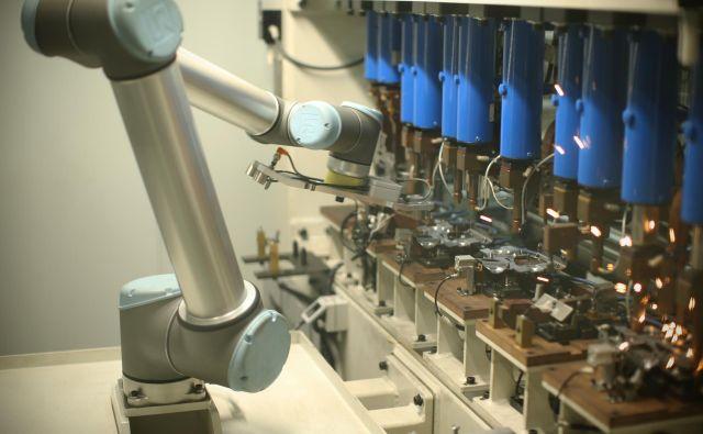 Robot iz proizvodnje podjetja TPV. FOTO: Jure Eržen