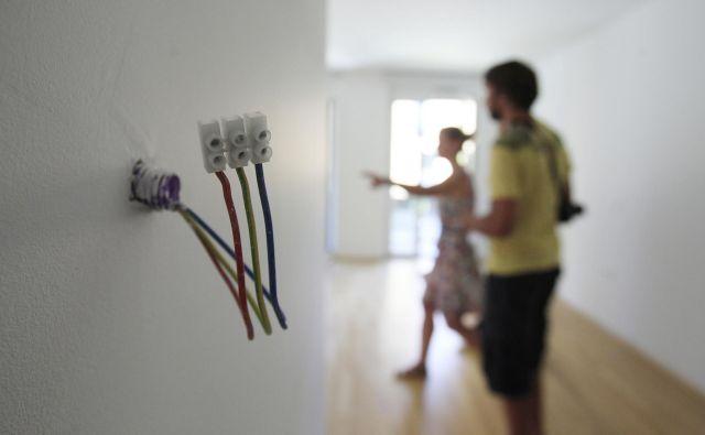 Cene novih stanovanjskih nepremičnin so se v prvem četrtletju letos glede na prejšnje četrtletje zvišale za 7,6 odstotka. FOTO: Leon Vidic