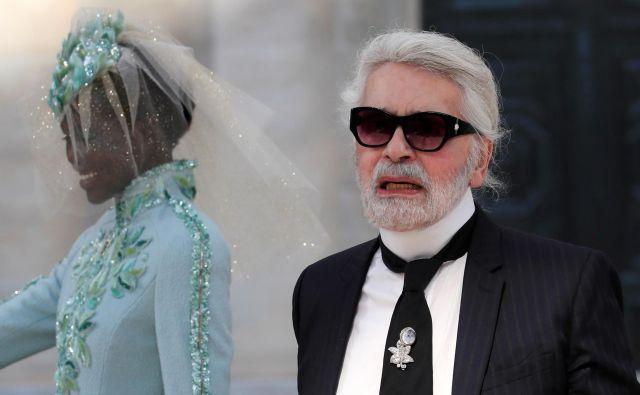 Karl Lagerfeld uživa, ko počne stvari, ki jih ni še nikoli. FOTO REUTERS