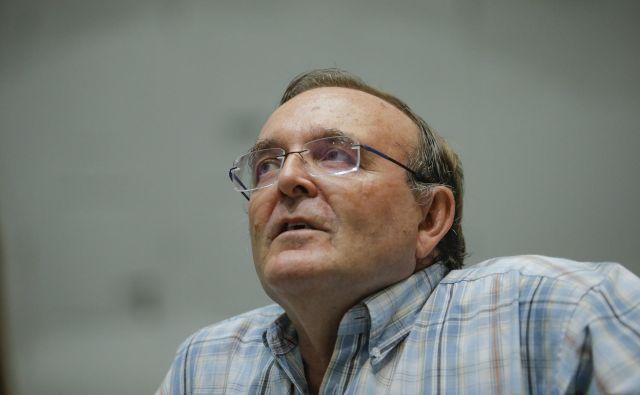 Juan Antonio Belmonte, raziskovalec na inštitutu za astrofiziko na Kanarskih otokih in profesor na oddelku za astrofiziko na univerzi La Laguna Foto Jože Suhadolnik