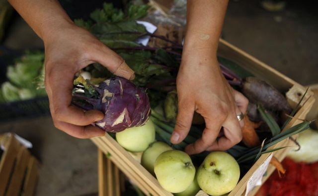 Raziskave pravijo, da gre za zmagovalno kombinacijo. Prebivalci bodo tako bolj zdravi, njihova hrana pa bo pridelana z manjšo količino našega najbolj dragocenega naravnega vira – vode. FOTO: Uroš Hočevar/Delo