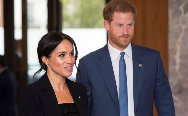 Vojvoda in vojvodinja suseška se v kratkem odpravljata na uradni obisk v Avstralijo. FOTO: Victoria Jones/Reuters
